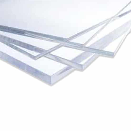 Ακρυλικό φύλλο extruded διάφανο - Ακρυλικά φύλλα τύπου πλεξιγκλάς (plexiglass) - Theoprofil.com