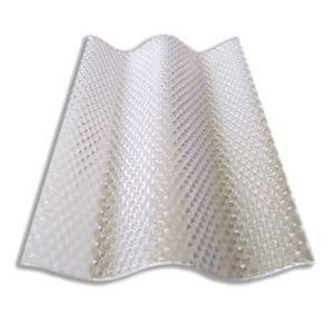 Πολυκαρβονικό συμπαγές κυματοειδή διαμόρφωση - κυψέλη - διάφανο - Theoprofil.com