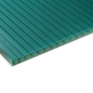 Πολυκαρβονικό κυψελωτό θερμοανάκλασης polyshade πράσινο - Theoprofil.com