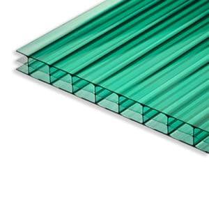 Πολυκαρβονικό κυψελωτό πράσινο - Theoprofil.com